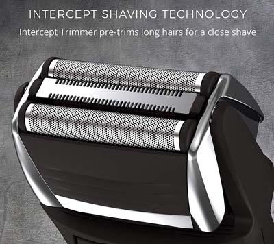 Intercept Shaving Technology