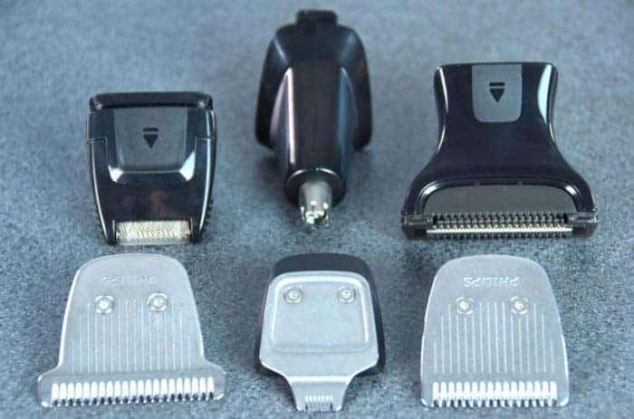 Philips MG7730/15 heads