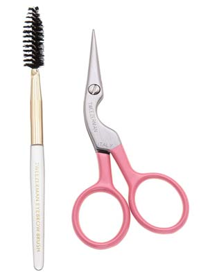 Tweezerman Eyebrow Scissors & Brush
