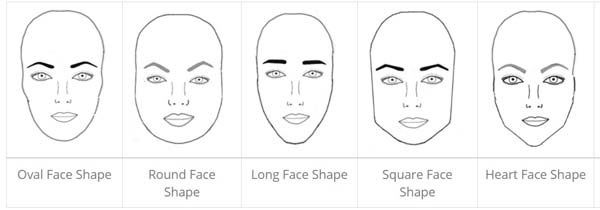 eyebrow face shape